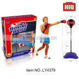 Outdoor indoor boxing speed ball folding boxing stand with gloves