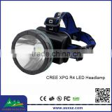 High Power XPG R4 LED Rechargeable LED Miner Headlamp Wholesale