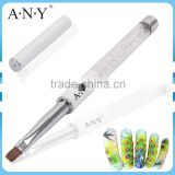 ANY Nail Art UV Gel Nails Building Crystal Pure Kolinsky Nail Art Brush Flat Gel Art