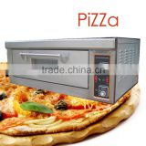 Pizza Oven Baker's magic assitant 1 deck 2 trays Electric Bakery Oven with Ceramic Stone