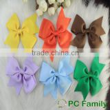 Hot sell colorful Hair Bow, wholesale baby girl hairbows