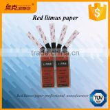 Laboratory acid and alkali red litmus test strips / kits