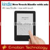 Amazon new touch Kindle with ads Wholesales Electronic Books reader with ads Amazon new touch Kindle
