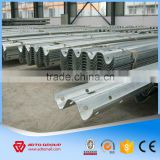 Corrugated Road Safety Crash Barrier Guard Rail Beam Price Steel Construction Materials Manufacturer
