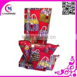 Wax matching bag WB-0148 african wax prints handbag for big wedding dress