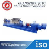 G Type Electric Sanitary Rotor Pump For Food Slurry