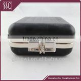 Fashion clutch bag metal box purse frames with jewels                                                                         Quality Choice