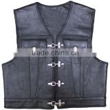 shooting vest kids leather vest custom leather vests buffalo quality german biker men leather biker vest