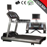 quanzhou AC3.0hp commercial treadmill with tv