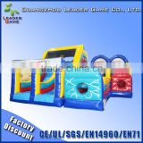 Guangzhou inflatable obstacle course indoor inflatable floating obstacle for water games