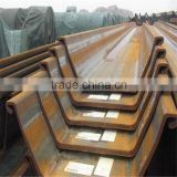 400*125 sy295 water-resisting u type hot rolled used Steel Sheet Pile for sale