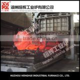 Forging heating furnace Top design gas furnace for forging