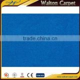 Blue plain velour styles non-woven cheap polyester carpet underlayment