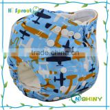 Wholesale modern bamboo cotton soft breathable newborn cloth diaper