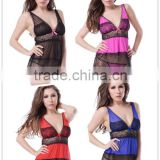 Four color soft new high quality teen girls sexy lingerie