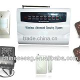 16 LED zone PSTN fire security alarm auto dial out stored phone numbers via land line on emergency