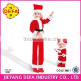 Girls wearing Santa costumes baby doll Cute girl doll