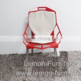Customized useful gold metal wedding bamboo chair