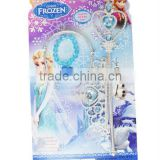 2014 popular frozen bracelet set with crown,hair accessory