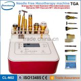 no needle portable beauty product facial electrotherapy skin care mesoterapia facial