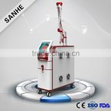 Sanhe ce 2 years warranty 1064 nm 532nm nd yag laser / elight plus ipl plus rf plus nd yag laser
