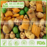 Wholesale of Instant Chinese Food Different Flavor Fried Cracker Very Yummy Snacks with Certificates