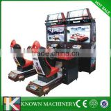 47'' LCD coin operated OUT RUN car racing simulator game machine,simulator arcade racing car game machine