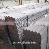 Q195, Q215, Q235, Q345 construction hot dip galvanized steel angle, 60 degree equal steel angle manufacturer