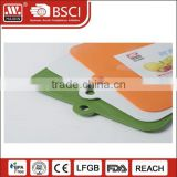 Wholesale Colorful Style Kitchen Vegetable Chopping Board PP Material Plastic Cutting Board Set