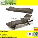 Outdoor furniture brown rattan furniture sun bed chaise lounge sun lounger daybed garden furniture