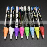 Chalk marker pen for LED writing board, high quality ink, easy to wipe off.