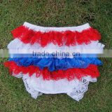 lovely kids ruffle underwear triple lace ruffle shorts persnickety remake bloomers for baby