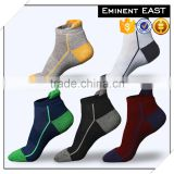 Free sampling unisex breathable wearproof semi-terry bamboo cotton sport socks