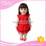 Fits 18 inch american girl baby doll clothing cool red chiffon skirt cake tutu mini skirt