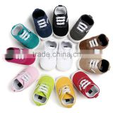 2017 baby shoes, colorful baby boy canvas shoes