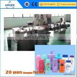 china factory full automatic plastic round bottle and square bottle filling capping and labeling machine making machine price