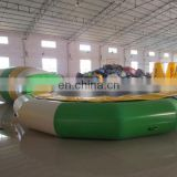 Exercise inflatable trampoline equipment/high jumping inflatable bungee trampoline for sale