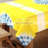 Decorative Table cover Shibori Tye and Dyed Table cover Cotton Table Cloth 60x90