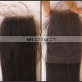fashionable alibaba wholesaler price best quality virgin human hair peruvian hair lace closures