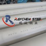 Stainless steel seamless pipes 321H