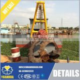 full hydraulic Cutter Suction Dredger / China sand dredging vessel