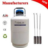 China liquid nitrogen dewar 10L with cover price in LT