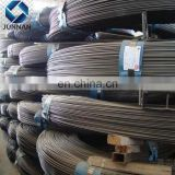 high tensile pc wire for prefabricated concrete floor Dia 6mm High carbon Spiral PC steel wire in coil