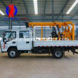 XYC-200 vehicle-mounted hydraulic core drilling rig/diamond core drill