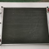 All aluminum radiator water tank and fan