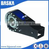 Wholesale china products shaft mounted gear box with bearing backstop