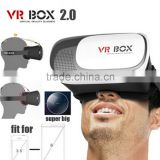 2016 Smart Phone 3D Glasses 3D VR BOX Headset Mirror Storm Box Magic Box VR Glasses 4.7 Inch VR Box