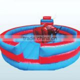 sch-23 Chinese inflatable bull riding machine for sale