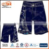 2016 moisture wicking dry rapidly sublimation MMA fight shorts