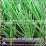 Hot sale 50mm double spine monofilament yarn outdoor infill artificial grass for football price